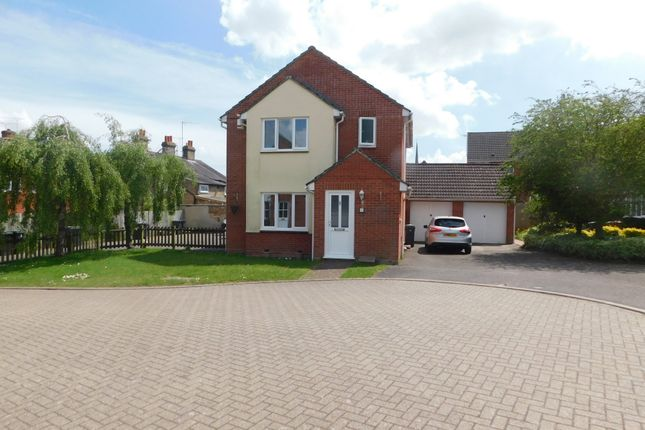 Thumbnail Detached house for sale in Tydemans Court, Stowmarket