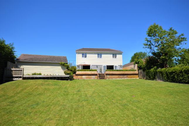 Thumbnail Detached house for sale in Coombe Way, Hawkinge, Folkestone