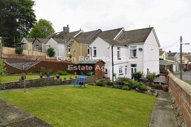 Thumbnail End terrace house for sale in Morgan Terrace, Tredegar, Blaenau Gwent.