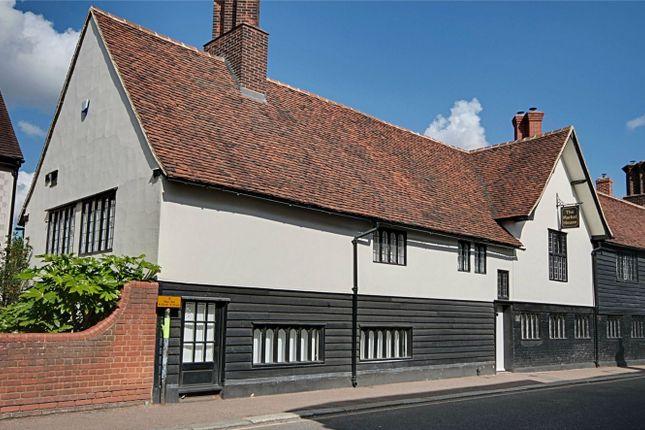 Thumbnail Town house for sale in Knight Street, Sawbridgeworth, Hertfordshire