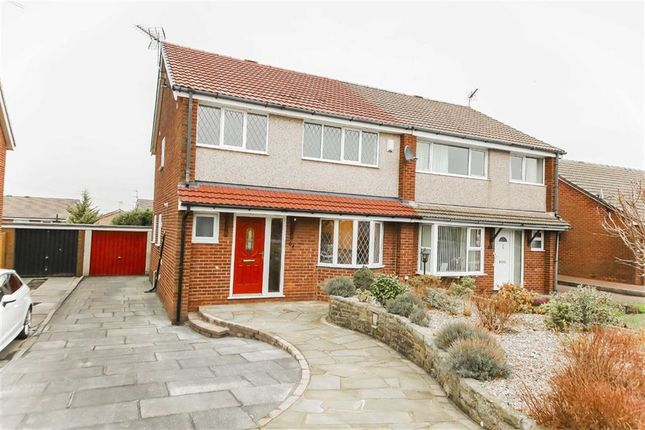 Thumbnail Semi-detached house for sale in Lynwood Avenue, Clayton Le Moors, Accrington