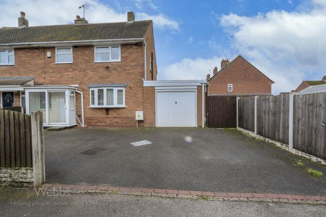 Thumbnail Semi-detached house for sale in Glastonbury Way, Bloxwich, Walsall