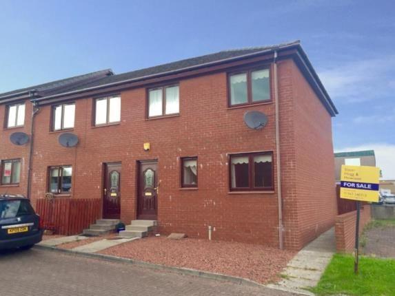 Thumbnail End terrace house for sale in Fullarton Court, Kilmarnock, East Ayrshire