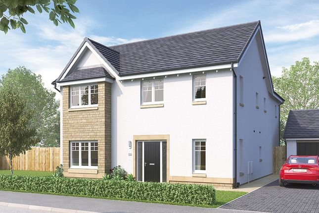 "Thumbnail Detached house for sale in ""The Durham"" at Mauricewood Road, Penicuik"
