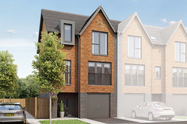 """Thumbnail End terrace house for sale in """"The Hollinwood"""" at Edge Lane, Droylsden, Manchester"""