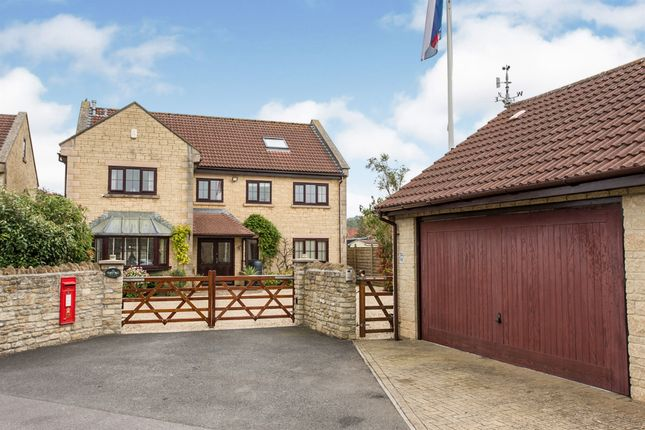 Thumbnail Detached house for sale in Stoke Crescent, Stoke St. Michael, Radstock