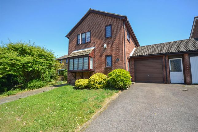 Thumbnail Link-detached house for sale in Blakeney Close, Norwich