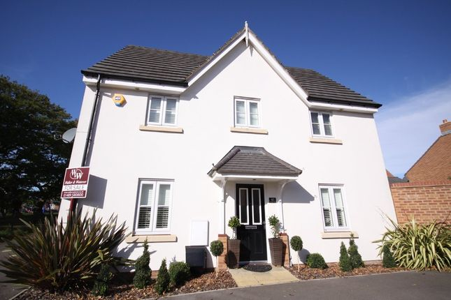 Thumbnail Link-detached house for sale in Coleridge Drive, Whiteley, Fareham