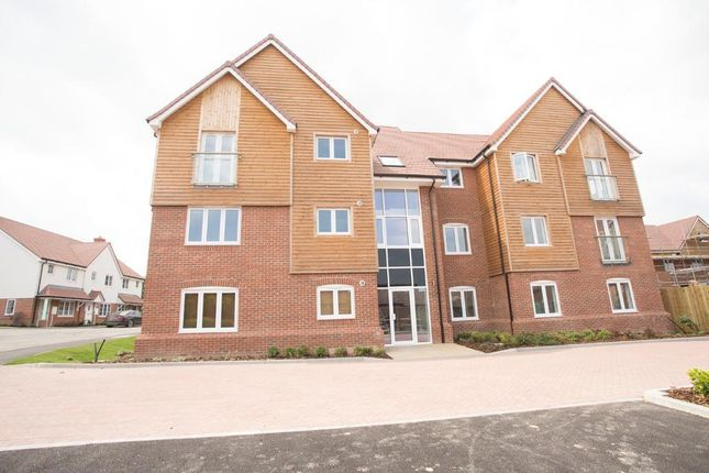 Thumbnail 2 bed flat to rent in Merrydown Way, Horam, East Sussex