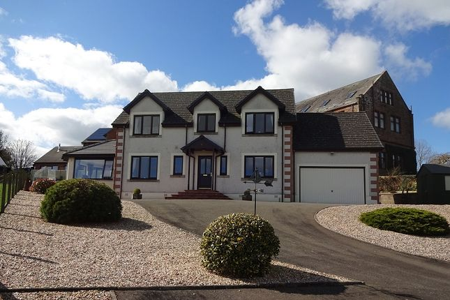 Thumbnail Detached house for sale in Little Garth Castleview Gardens, Lochmaben, Lockerbie, Dumfries And Galloway.
