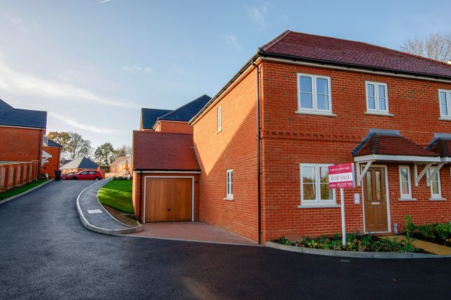 Thumbnail Semi-detached house for sale in Silver Court, Hartley Wintney, Hook