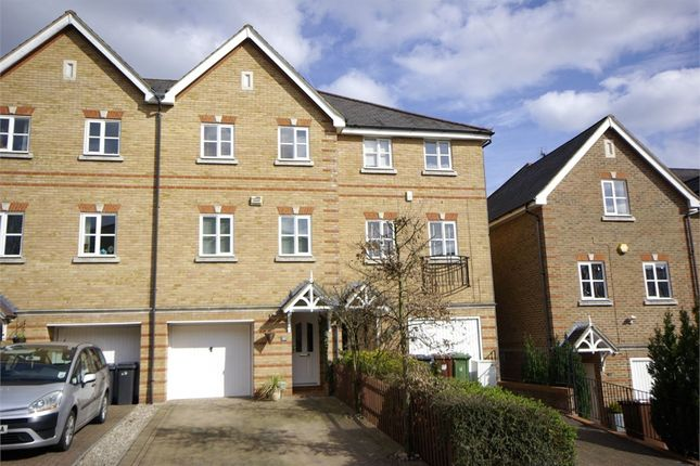 Thumbnail Terraced house to rent in Montague Hall Place, Bushey, Hertfordshire