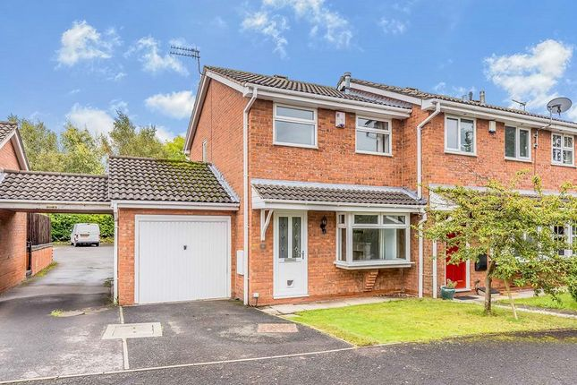 2 bed semi-detached house to rent in Bessancourt, Holmes Chapel, Crewe CW4
