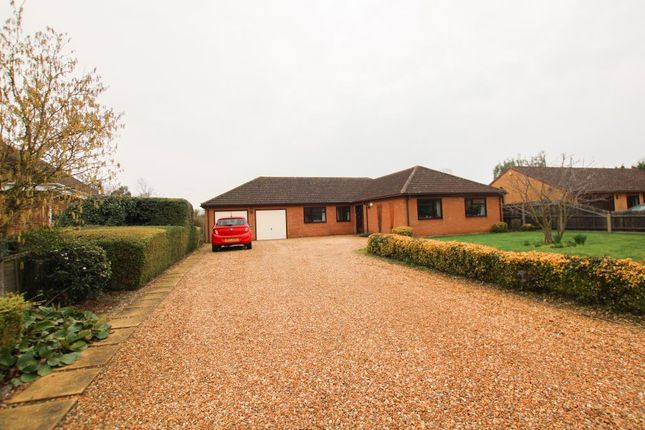 Thumbnail Detached bungalow for sale in Green End, Stretham, Ely