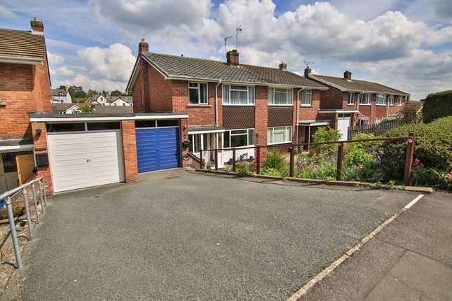 Thumbnail Semi-detached house for sale in Cresta Road, Abergavenny