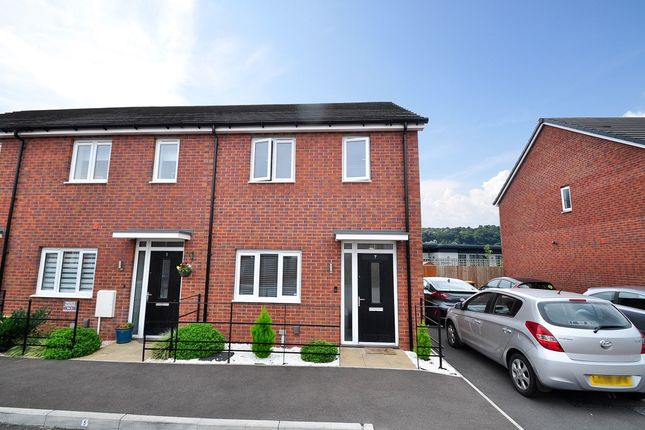2 bed end terrace house for sale in Motherwell Court, Newport NP19