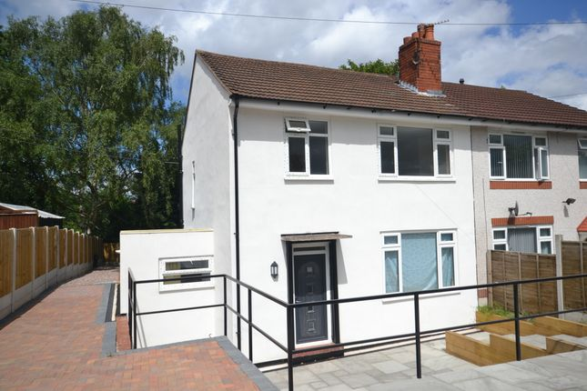 Thumbnail Semi-detached house for sale in Hereford Avenue, Clayton, Newcastle-Under-Lyme