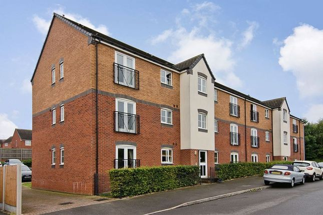 Thumbnail Flat for sale in Hobby Way, Heath Hayes, Cannock