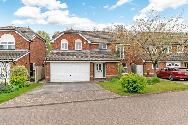 Thumbnail Detached house for sale in Teddington Close, Appleton, Warrington