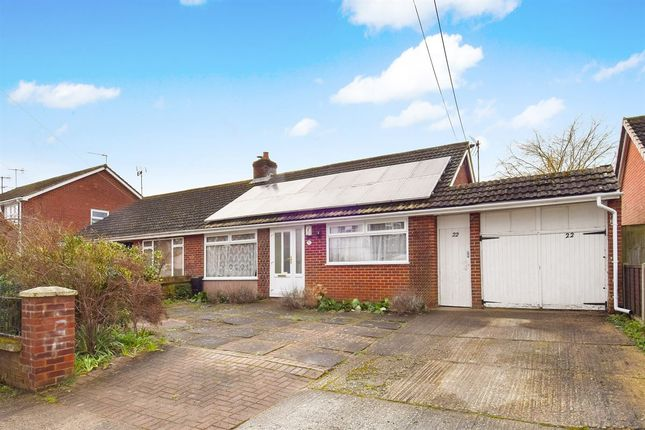3 bed semi-detached bungalow for sale in Shalmsford Street, Chartham, Canterbury CT4