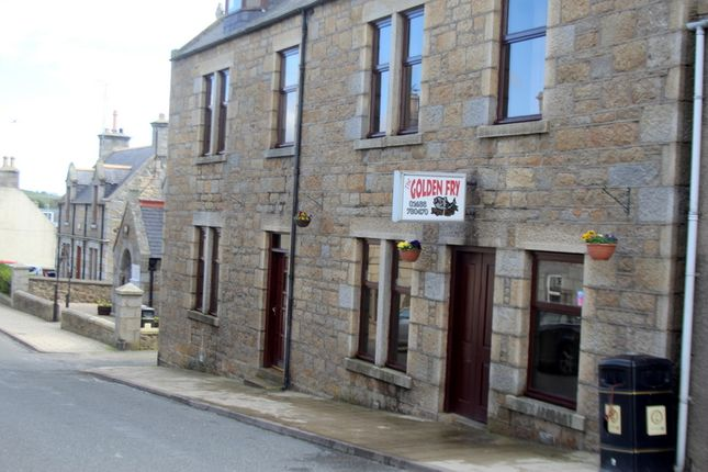 Thumbnail Restaurant/cafe for sale in Golden Fry Fish & Chip Shop, Main St, Aberchirder, Aberdeenshire