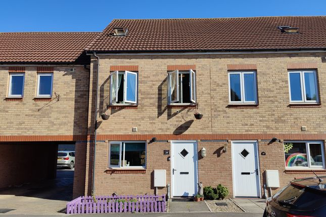 Thumbnail Town house for sale in Hawkshead Place, Newton Aycliffe