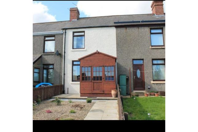 Front View of Percy Terrace, Consett DH8