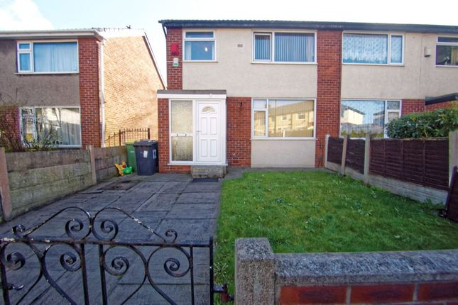 Thumbnail End terrace house for sale in Walton View, Preston