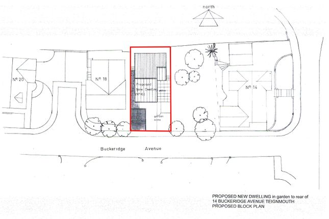 Thumbnail Land for sale in Single Building Plot, Buckeridge Avenue, Teignmouth