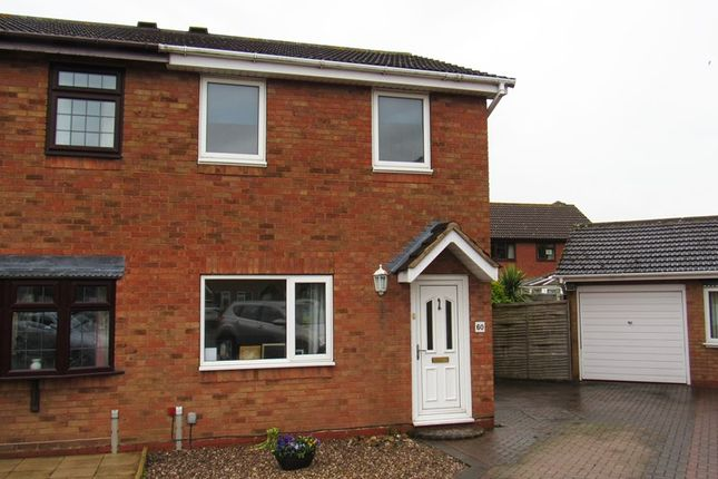 Thumbnail Semi-detached house for sale in Caldeford Avenue, Monkspath, Solihull