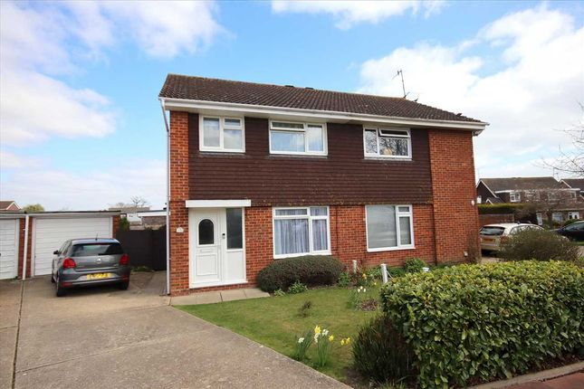 Thumbnail Semi-detached house for sale in Chesley Close, Worthing
