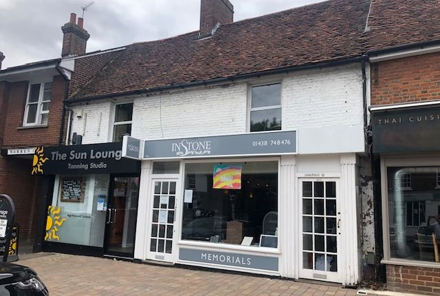 Thumbnail Retail premises for sale in 114, 114A & 114B, High Street, Stevenage