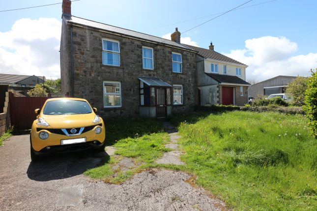 Thumbnail Detached house for sale in Vean Road, Camborne