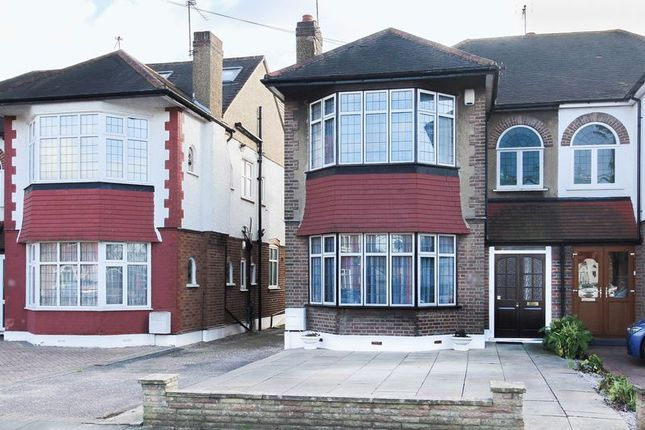 Thumbnail Semi-detached house for sale in Sussex Way, Cockfosters, Barnet