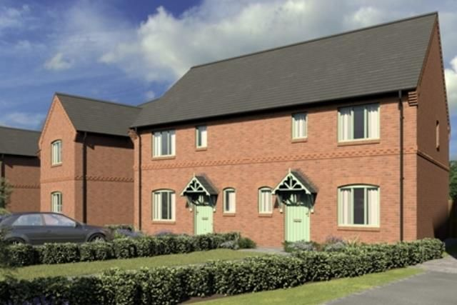 Thumbnail Semi-detached house for sale in Chapmans Orchard, Hanley Swan, Worcester