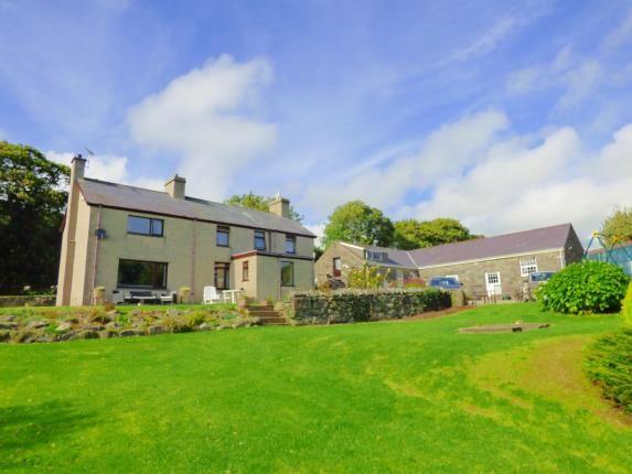 Thumbnail Detached house for sale in Llanystumdwy, Criccieth, Gwynedd