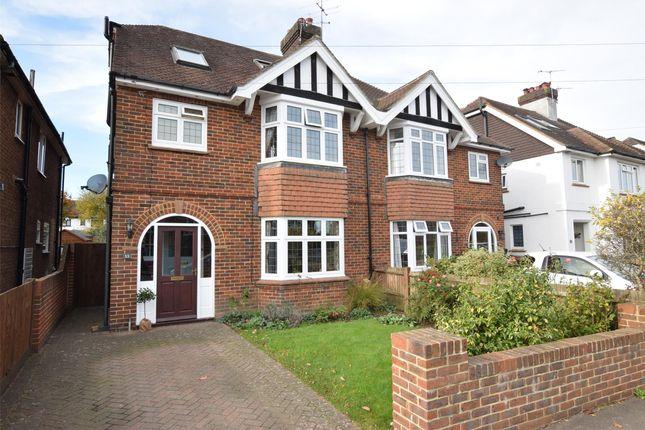 Thumbnail Semi-detached house for sale in East Cliff Road, Tunbridge Wells, Kent