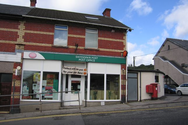 Thumbnail Retail premises for sale in Mill Terrace, Ebbw Vale, Gwent.