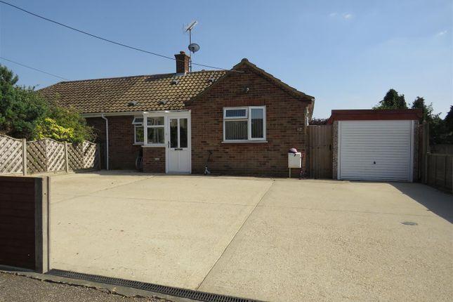 Thumbnail Semi-detached bungalow for sale in Doddshill Road, Dersingham, King's Lynn