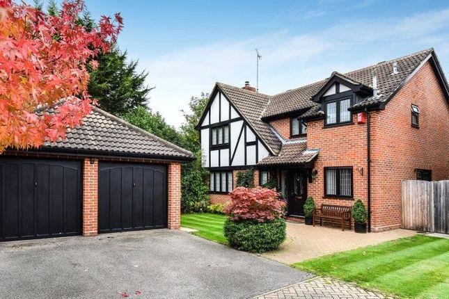 Thumbnail Detached house for sale in Raeburn Way, College Town, Sandhurst, Berkshire