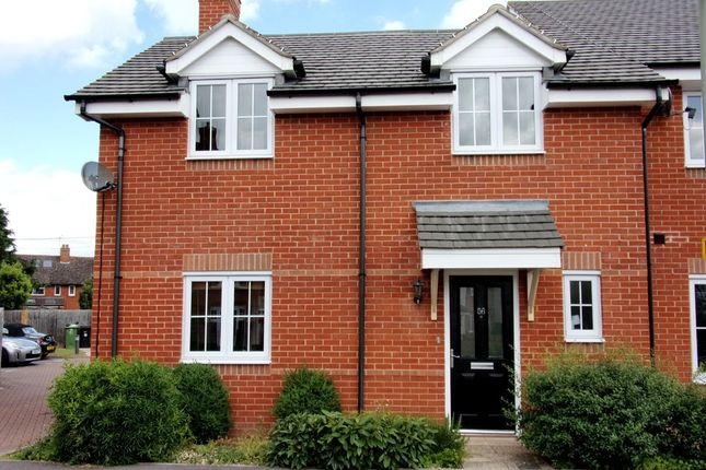Thumbnail End terrace house to rent in Caldecott Chase, Abingdon