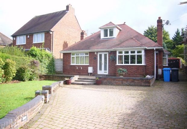 Thumbnail Detached bungalow for sale in Cannock Road, Westcroft, Wolverhampton, Staffordshire
