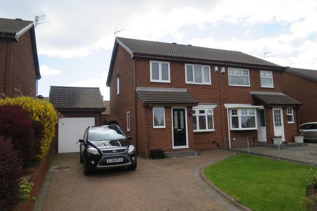 Thumbnail Semi-detached house for sale in Chirton Avenue, South Shields