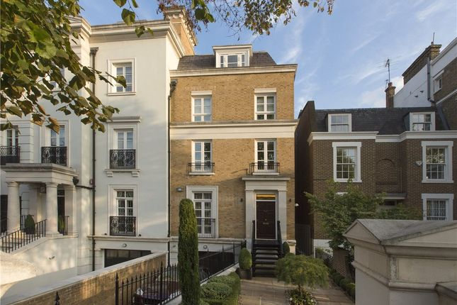 Thumbnail Semi-detached house to rent in Marlborough Place, St Johns Wood