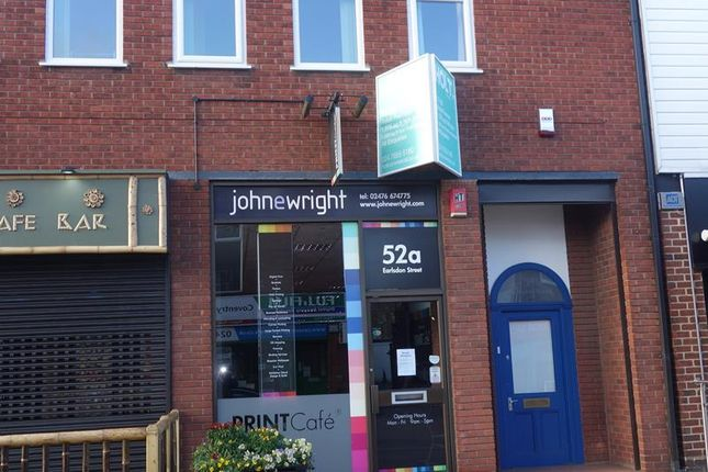 Thumbnail Retail premises to let in 52A Earlsdon Street, Earlsdon, Coventry, West Midlands