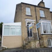 Thumbnail End terrace house for sale in Somerset Road, Almondbury, Huddersfield