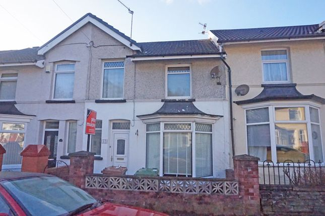Thumbnail Terraced house for sale in Station Road, Ystrad Mynach