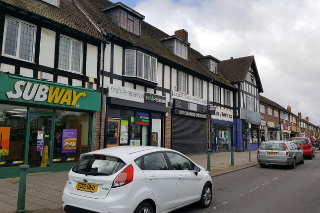 Retail premises to let in Station Road, Marston Green