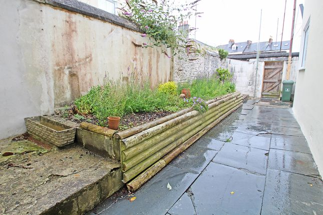 Rear Courtyard of Napier Street, Stoke, Plymouth PL1