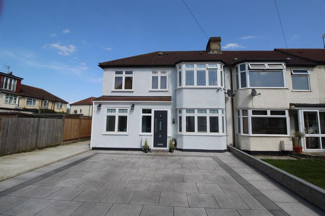 Thumbnail End terrace house for sale in Newby Close, Enfield